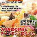 【ふるさと納税】0079.大村産旬の野菜とチャンポン・皿うど...
