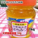 【ふるさと納税】0192.天然国産蜂蜜1kg