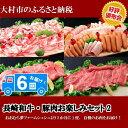 【ふるさと納税】1096.長崎和牛・豚肉お楽しみセット2...