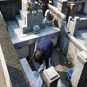 65【ふるさと納税】 シルバー墓守りさんサービス 1回 清掃...