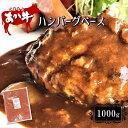 【ふるさと納税】本場熊本!あか牛ハンバーグベース 1000g