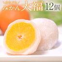 【ふるさと納税】まるごとみかん大福12個 玉東町産みかん使用...