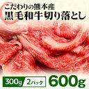 【ふるさと納税】黒毛和牛切り落とし(600g)