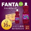 【ふるさと納税】ファンタグレープ 1.5LPET 2ケース ...
