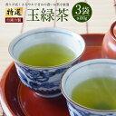【ふるさと納税】 特選 玉緑茶(自園自製)100g×3袋 ※...