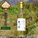 【ふるさと納税】久住産 白ワイン 辛口 シャルドネ 720ml 1本 送料無料 日本 国産 ギフト