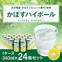 【ふるさと納税】辛口かぼすハイボール 24缶セット