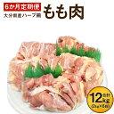 【ふるさと納税】6か月定期便 ハーブ鶏もも肉2kg 6回 合計12kg 定期便 大分県産 九州産 鶏...