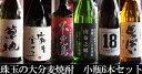 【ふるさと納税】大分の麦焼酎6本セット(小ビン)