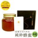 【ふるさと納税】日本ミツバチの純粋蜂蜜 440g ハチミツ ...