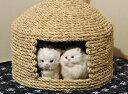 【ふるさと納税】愛猫の和風高級マンション!国東猫ちぐら(ダブ...