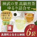 【ふるさと納税】神武の里高級煎茶・ゆるり詰合せ 6袋