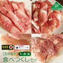 【ふるさと納税】宮崎県産牛・鶏・豚肉食べつくし4種セット