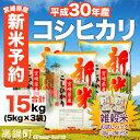 【ふるさと納税】<新米予約!平成30年産宮崎県産コシヒカリ5...