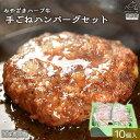 【ふるさと納税】 <みやざきハーブ牛 手ごねハンバーグ10個...