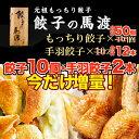 【ふるさと納税】今だけ増量!餃子の馬渡<馬渡のもっちり餃子4...