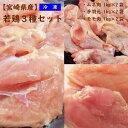 【ふるさと納税】 宮崎県産若鳥3種 モモ・ムネ・手羽元6kg...