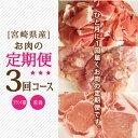 【ふるさと納税】 宮崎県産 ブランド豚 若鶏 セット 3ヵ月...