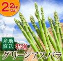 【ふるさと納税】(特選)グリーンアスパラ(大容量2.2kg以...