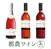 【ふるさと納税】都農ワイン3本セット(キャンベル・アーリー、マスカット・ベリーA、スパークリングワイン キャンベル・アーリー)