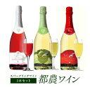 【ふるさと納税】都農ワイン3本セット(スパークリングワイン ...