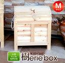 【訳あり】【ふるさと納税】木製生ごみ処理容器 樹erie box(じゅえりーぼっくす)B品Mサイズ
