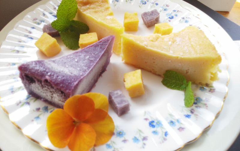 【ふるさと納税】贅沢スイートポテトケーキ(芋比べ) A-047