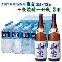 【ふるさと納税】大容量!天然アルカリ温泉水「財宝」(2L×1...