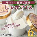 ショッピングアイスクリーム 【ふるさと納税】大自然の恵み じゃがアイス_waki-279
