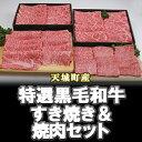 【ふるさと納税】特選鹿児島黒毛和牛すき焼き&焼肉セット...