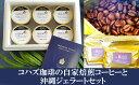 【ふるさと納税】コハズ珈琲の自家焙煎コーヒーと沖縄ジェラートセット