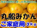 【訳あり】和歌山県有田産 丸船みかん S〜2Lサイズ 3k