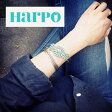 【Harpo/アルポ】BR14/Small Turquoise Flower Bracelet