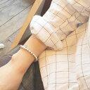 【PHILIPPE AUDIBERT/フィリップオーディベール】Perles Metal Bracelet Silver Color