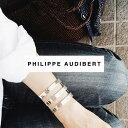 ★大人気モデル★【PHILIPPE AUDIBERT/フィリップオーディベール】Right bracelet L Sil