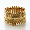 【PHILIPPE AUDIBERT/フィリップオーディベール】Verona metal cuff pewter gold color