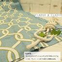 イギリス輸入生地商品名:GAMA/aquaブランド名:CLARKE&CLARKE(クラーク&クラーク)*ハーフカット(約65cm巾)*50cm以上10cm単位*..