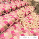 輸入生地 幾何学柄商品名:TRIBECA/Orchid ブランド名:CLARKE&CLARKE(クラーク&クラーク)*ハーフカット*30cm以上10cm単位イギリ..