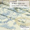 輸入生地 トワルドジュイ商品名:LUDIVINE/fd ecru 1161607ブランド名: THEVENON/フランス50cm以上10cm単位*フランス・綿100%・天使・カルトナージュ・生地・布