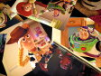 【オックス】◆10cm単位続けてカット◆トイ・ストーリー 名シーン柄 デジタルプリントオックス 【トイストーリー/ウッディ/バズ/ディズニー/ピクサー/キャラクター生地・布/入園・入学】P06May16