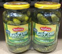 �ں߸˸¤�ۡ�COSTCO�ۥ����ȥ�����NALLY��Baby Dill Pickles �ԥ��륹��567g��2�ܡ�����̵����