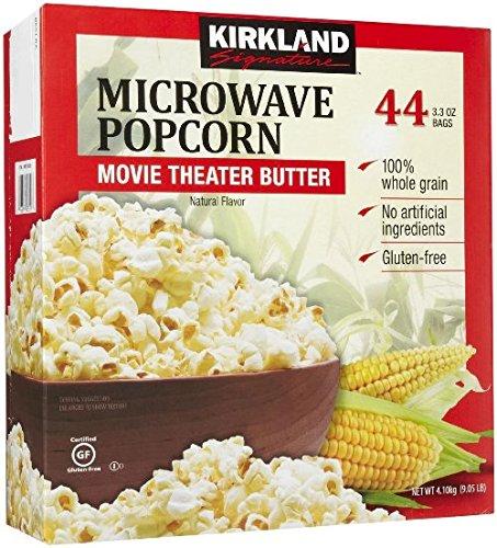 【在庫限り】【COSTCO】コストコ【KIRKLAND】(カークランド)MICROWAVE ポップコーン 44袋入り 【送料無料】