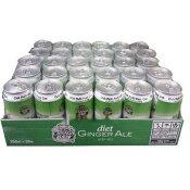 【在庫限り】カナダドライ ダイエットジンジャエール  350ml×30本(缶)Diet GINGER ALE 【送料無料】