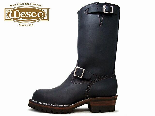 Wesco BOSS ウエスコ ボス エンジニアブーツ CUSTOM BOSS 11inc vibram #100 カスタム ボス 11インチ ビブラム #100 ソール BLACK / ブラック BROWN SOLE / ブラウンソール MADE IN USA / アメリカ製
