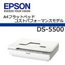 エプソン DS-5500 フラットベットスキャナ【代引不可商品】