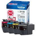 ブラザー 大容量インクカートリッジ LC3119-4PK(4...
