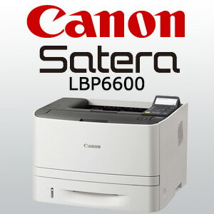 キヤノン A4モノクロレーザープリンタ Satera LBP6600 (5152B001) 急いで