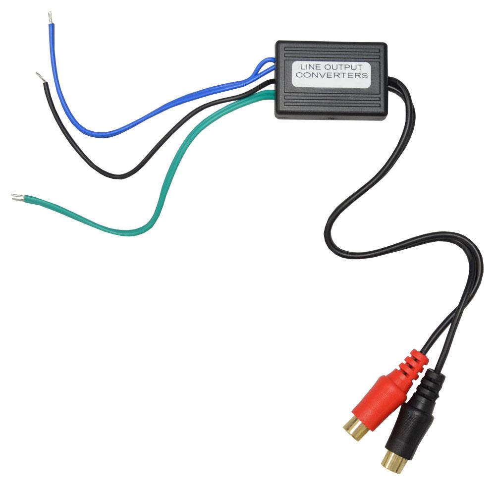 DM便発送可CA-HL15スピーカー出力→RCA変換2chハイローコンバーターHiLowConver