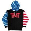 tmt-mo35-4rwbk THE MONEY TEAM ザ・マネーチーム パーカーTMT DECLARATION 黒ベース×赤ロゴ フロイド・メイウェザー ボクシング メンズ プリント アメリカ TMT WBC WBA( メイウェザー パーカ フロイドメイウェザー )