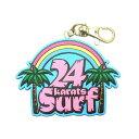ショッピング24karats 【送料無料】『24karatsSURF』SURFキーホルダー004【通常発送商品】【12時までのご注文で当日発送(土日・祝除く)】